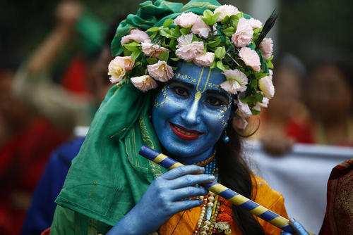 image تصایر زیبای برگزاری جشنواره خیریه در کاتماندو نپال