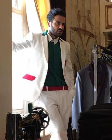 image کامران بختیاری طراح لباس المپیک ریو با کت و شلوار مردانه المپیک