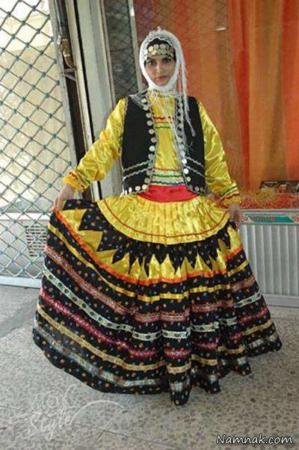 image عکس و معرفی لباس های سنتی زنان ایران در کل کشور