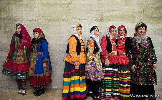 image, عکس و معرفی لباس های سنتی زنان ایران در کل کشور