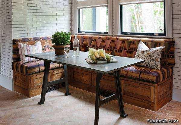 image, مدل های جدید میز غذاخوری برای کنج و گوشه های سالن