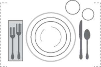 image چطور میز غذای خیلی شیک و مجلسی برای مهمانی بچینیم