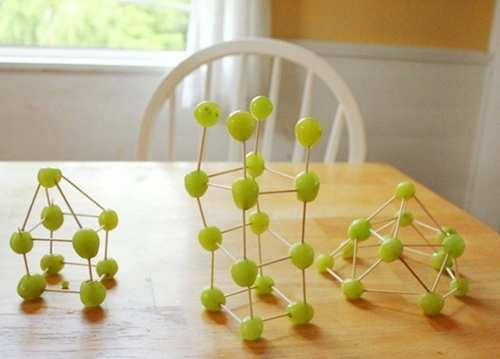 image با انگور چه تزیین های می توان برای سفره مهمانی درست کرد