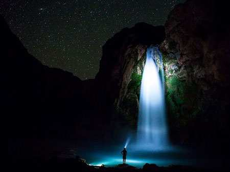 image عکس زیبایی از آبشار هاواسو در آریزونا آمریکا