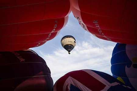 image عکسی زیبا از جشنواره بالن بریستول انگلیس