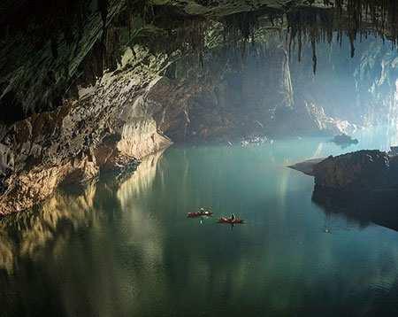 image, گزارش تصویری دیدنی از غارهای زیرزمینی Tham khoun
