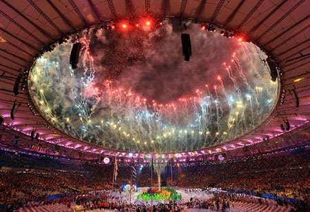 image, عکسی زیبا از اختتامیه المپیک استادیوم المپیک ریودوژانیرو
