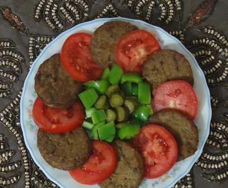 image ایده های تصویری جالب برای تزیین کباب تابه ای در مهمانی