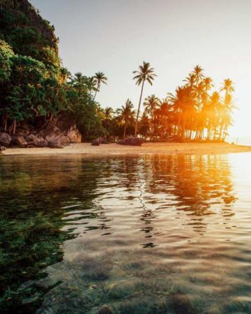 image زیباترین عکس گرفته شده در جهان از ساحل جزیره ای زیبا