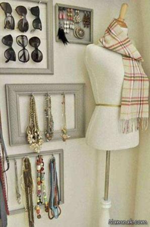 image بهترین ترفندهای مرتب کردن همیشگی کمدهای شلوغ لباس