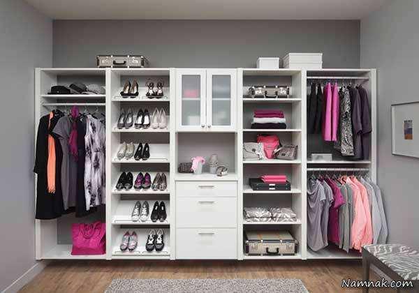 image راهنمای تصویری خرید کمد لباس مناسب برای خانه