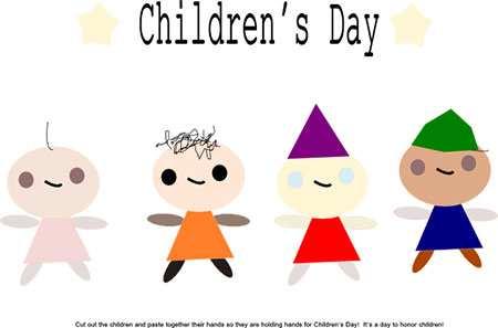 image, عکس ایده های جالب کاردستی روز جهانی کودک