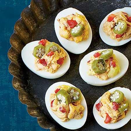 image, تزیین های شیک و مجلسی برای تخم مرغ میز صبحانه
