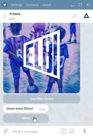 image, چطور با تلگرام به عکس های خود افکت های زیبا اضافه کنیم