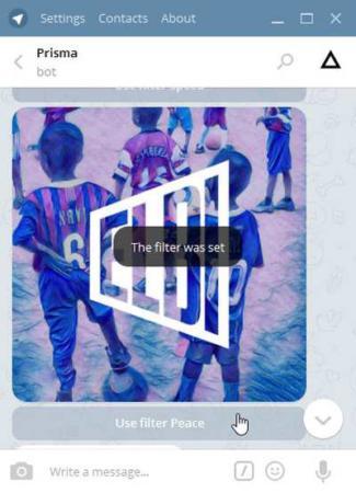 image چطور با تلگرام به عکس های خود افکت های زیبا اضافه کنیم