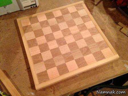 image, آموزش عکس به عکس ساخت صفحه شطرنج در خانه