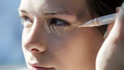 image, آموزش استفاده درست از کانسیلر در آرایش صورت