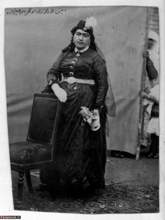 image, عکس های زیبا از انیس الدوله محبوب ترین چهره دربار ناصرالدین شاه