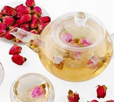image, طرز تهیه و خواص شگفت انگیز چای گل سرخ محمدی