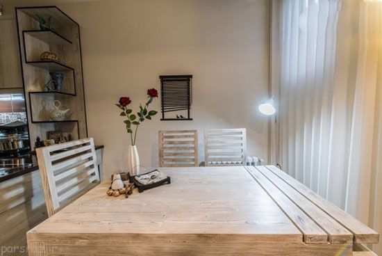 image عکس های دکوراسیون شیک آپارتمان کوچک برای زن و شوهر دو نفره