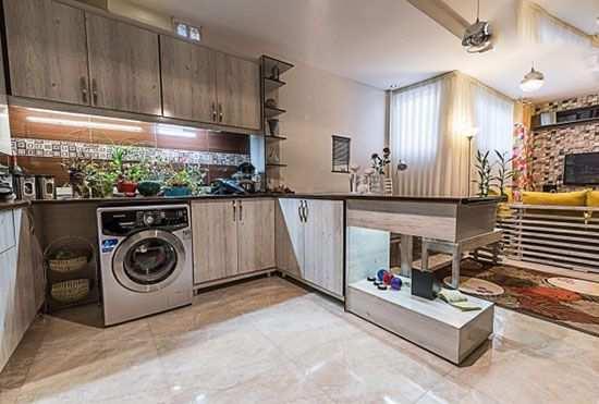 image, عکس های دکوراسیون شیک آپارتمان کوچک برای زن و شوهر دو نفره
