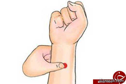 image آموزش تسکین فوری درد با فشار دادن نقطه خاص تصویری