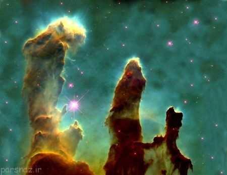 image, چطور یک ستاره در فضای کهکشان متولد می شود