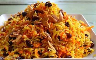 image, طرز پخت هویج پلوی اصل به روش شیرازی ها