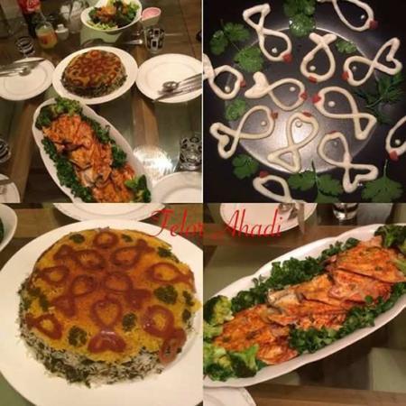image, آموزش پخت ته دیگ های شیک و طرح دار برای مهمانی رسمی