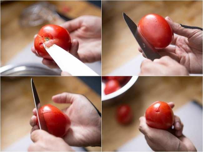 image, ترفند آسان گرفتن پوست گوجه فرنگی به سرعت