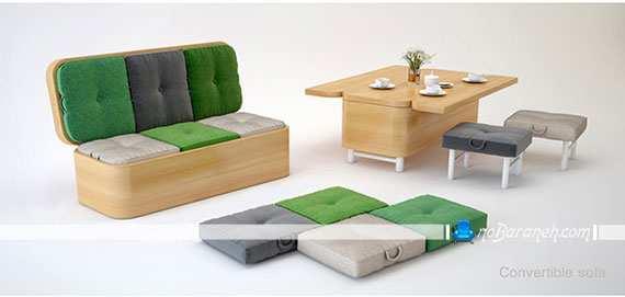 image عکس های دیدنی از یک کاناپه کوچک با طراحی خلاقانه
