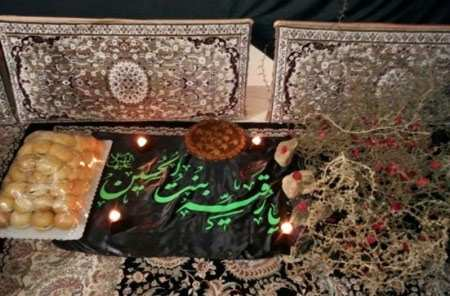 image عکس ایده های مختلف چیدمان سفره حضرت رقیه سلام الله علیه