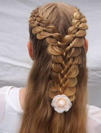 image, مدل موهای بسیار زیبا و مجلسی برای خانم ها