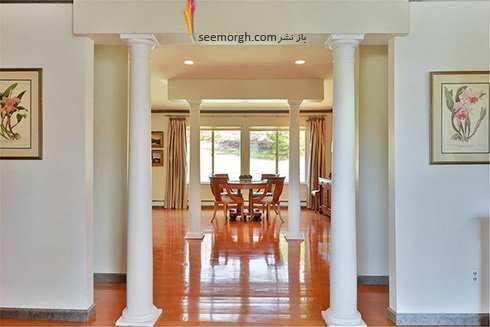 image تصاویر دیدنی از دکوراسیون داخلی خانه شیک هیلاری کلینتون