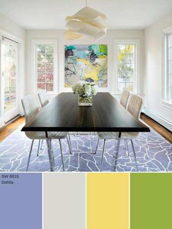 image آموزش ترکیب رنگ های مختلف برای استفاده در دکوراسیون