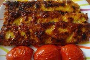image, طرز درست کردن و پخت کباب کوبیده مرغ
