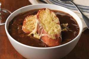 image طرز پخت پیش غذای خوشمزه سوپ پیاز