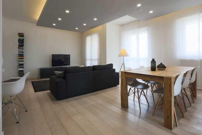 image, دکوراسیون شیک و ساده آپارتمان مدرن کوچک