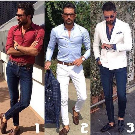 image, مدل های شیک ترکیبی تیپ رسمی مردانه