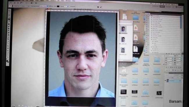 image آموزش گرفتن عکس پرسنلی با موبایل