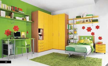 image, نکته های مهم برای چیدمان و دکور اتاق های کودک