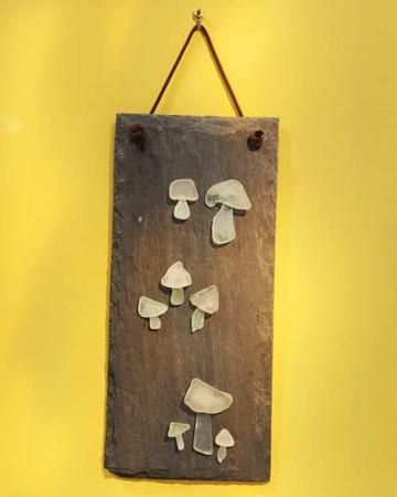 image, آموزش ساخت تابلوی سنگی زیبا با سنگ های ساحلی