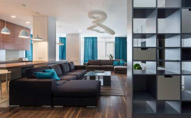 image, چطور از رنگ آبی در دکوراسیون خانه مدرن استفاده کنیم