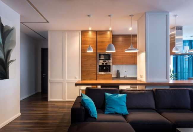 image چطور از رنگ آبی در دکوراسیون خانه مدرن استفاده کنیم