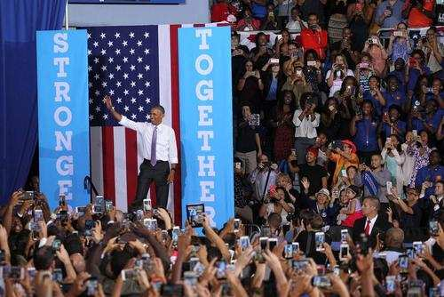 image سخنرانی باراک اوباما در دانشگاه میامی ایالت فلوریدا