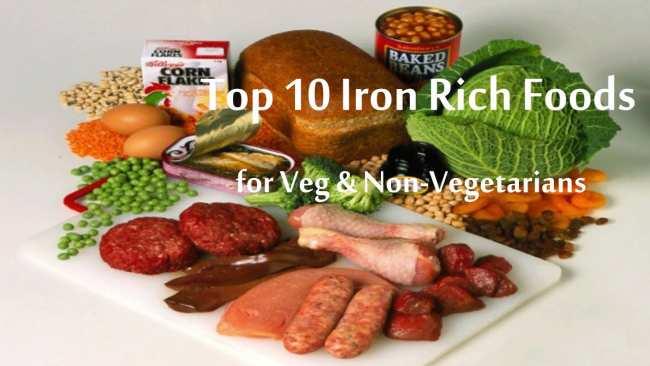 image خوراکی های مفید که کم خونی و فقر آهن را درمان میکنند