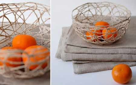 image آموزش عکس به عکس ساخت کاسه تزیینی برای دکور روی میز