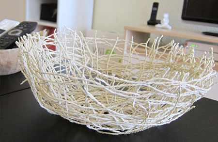 image, آموزش عکس به عکس ساخت کاسه تزیینی برای دکور روی میز