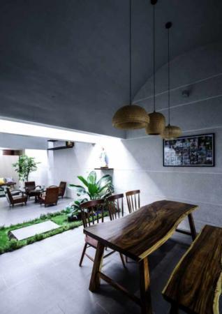 image, ایده ساخت باغچه با گیاهان سبز در سالن پذیرایی خانه