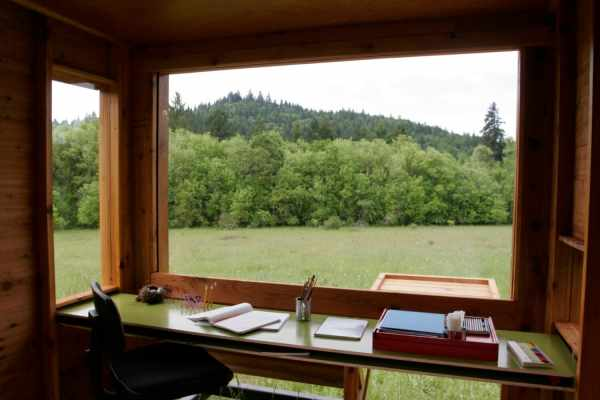 image, عکس های دیدنی اتاق مخصوص نویسندگی در طبیعت با نقشه ساخت